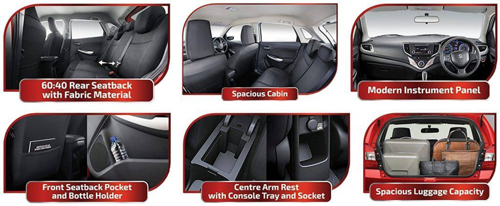 INTERIOR NEW BALENO
