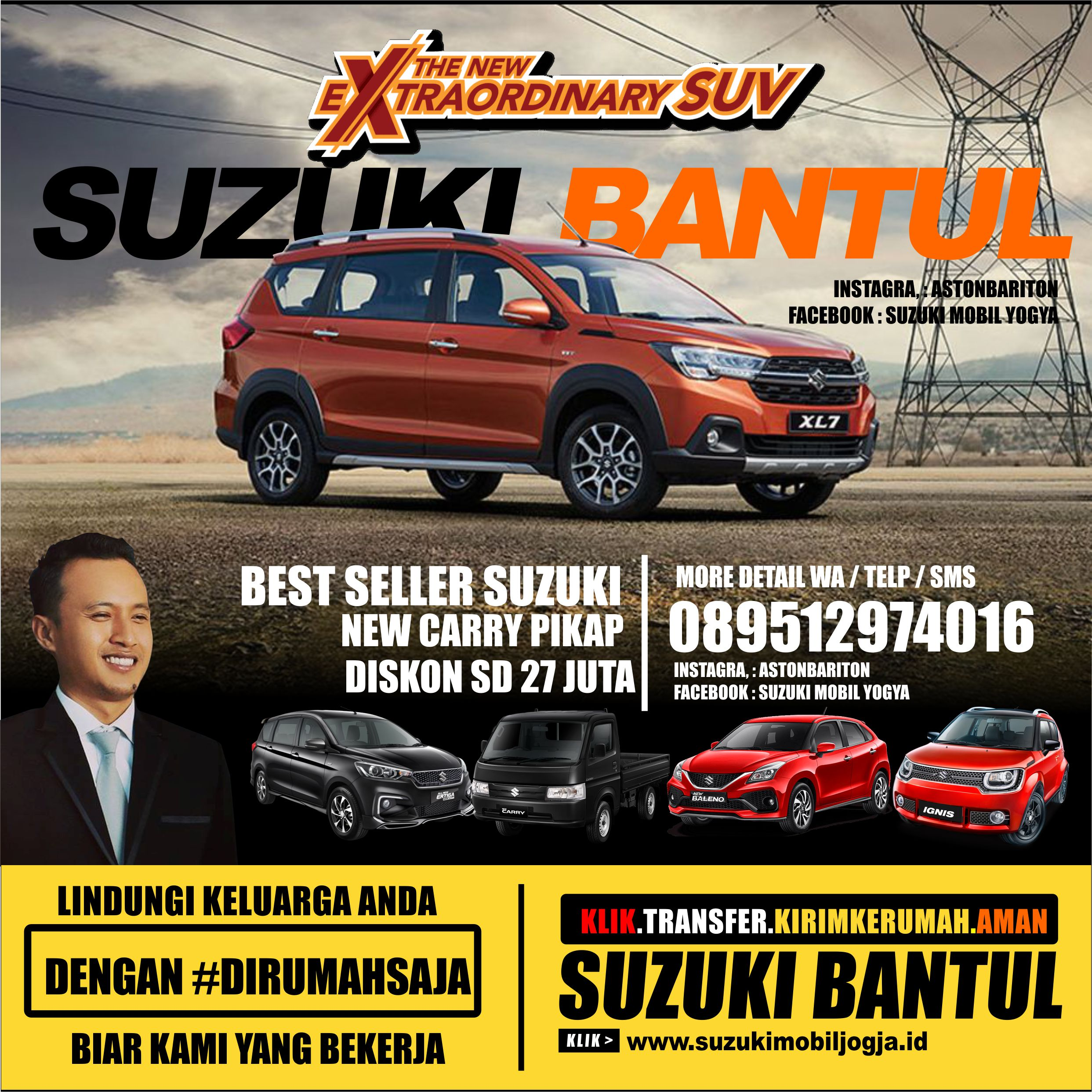 Promo New carry XL 7 All New Ertiga Jogjakarta