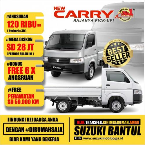 SUZUKI NEW CARRY JOGJA BULAN INI